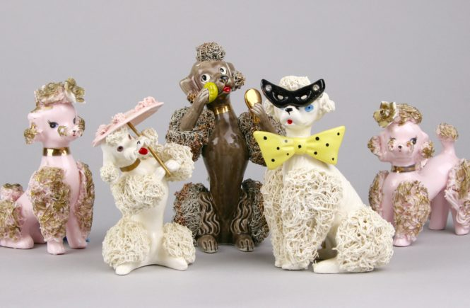 ceramic poodles