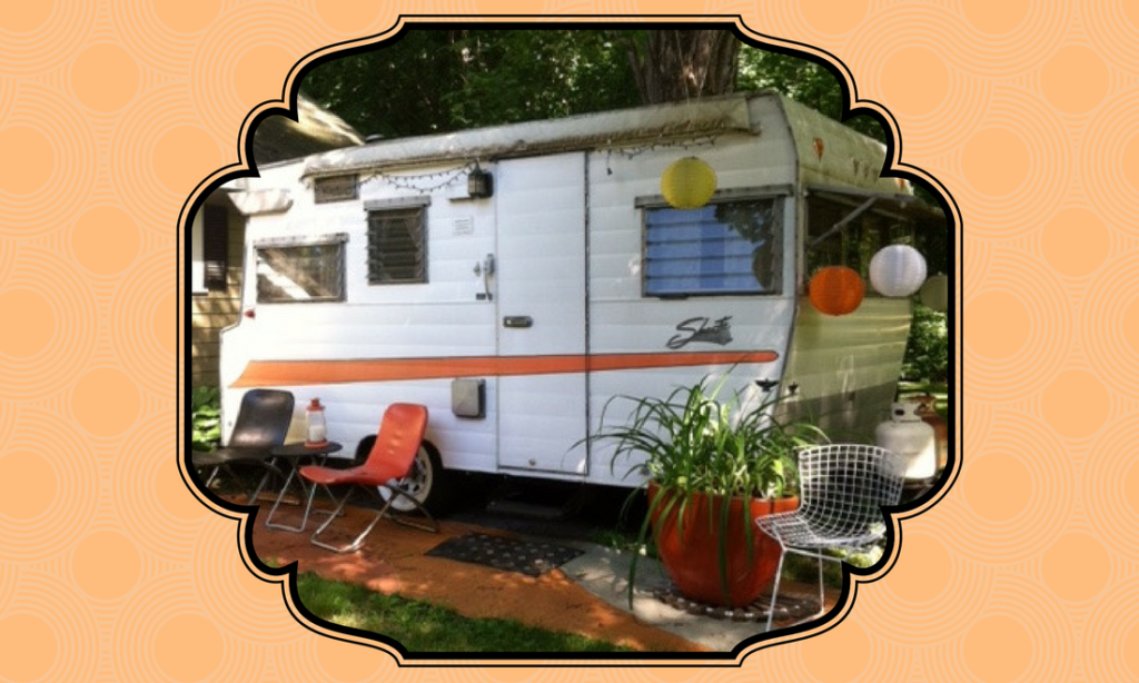 She Shed inspiration: 1966 Shasta Trailer - Vintage Unscripted
