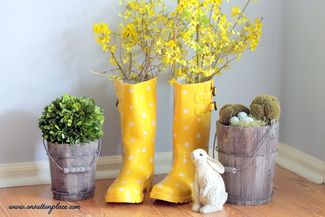 A Round Up Of Vintage Porch Decor For Easter Vintage Unscripted