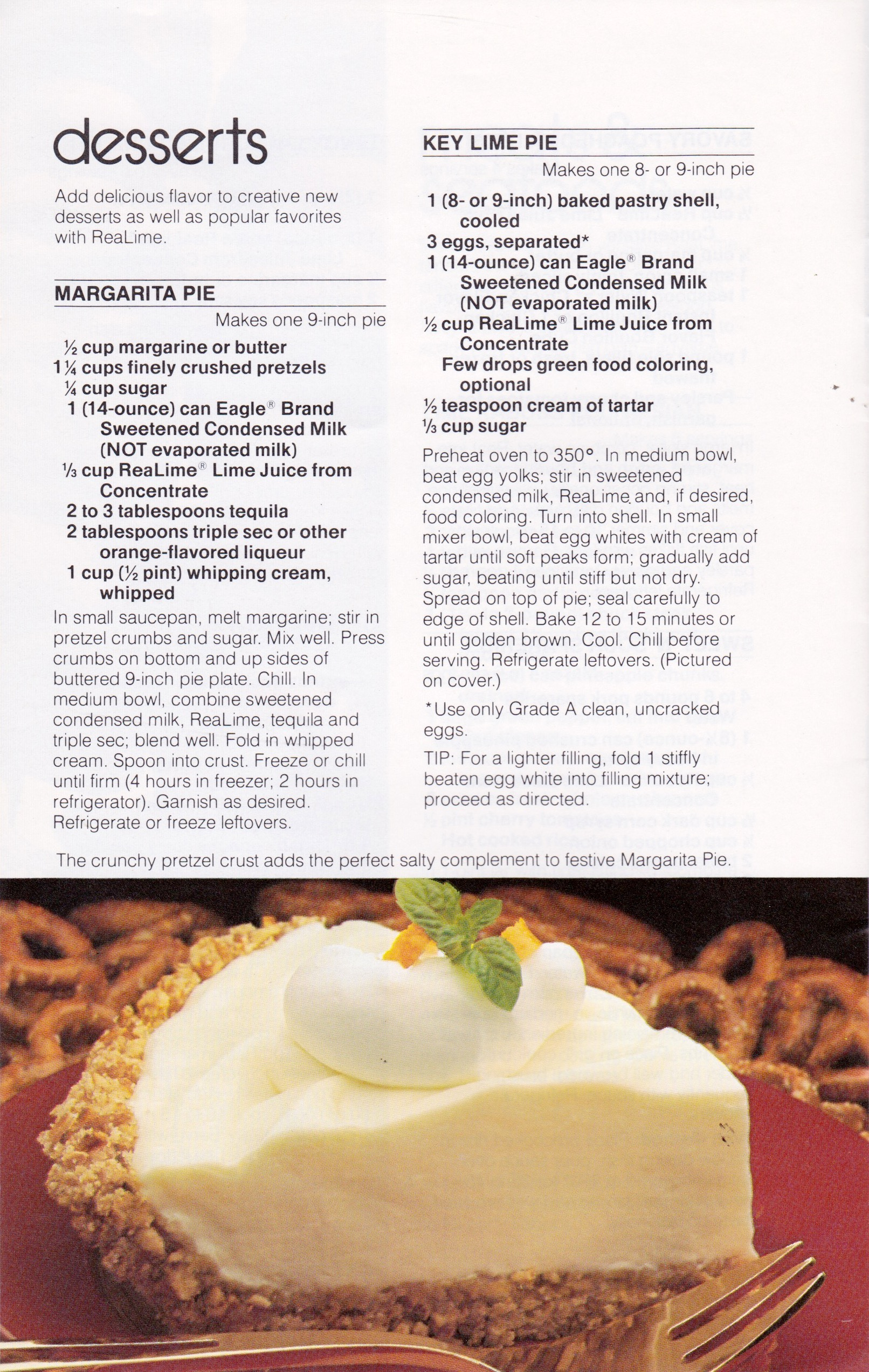 lime pie recipes
