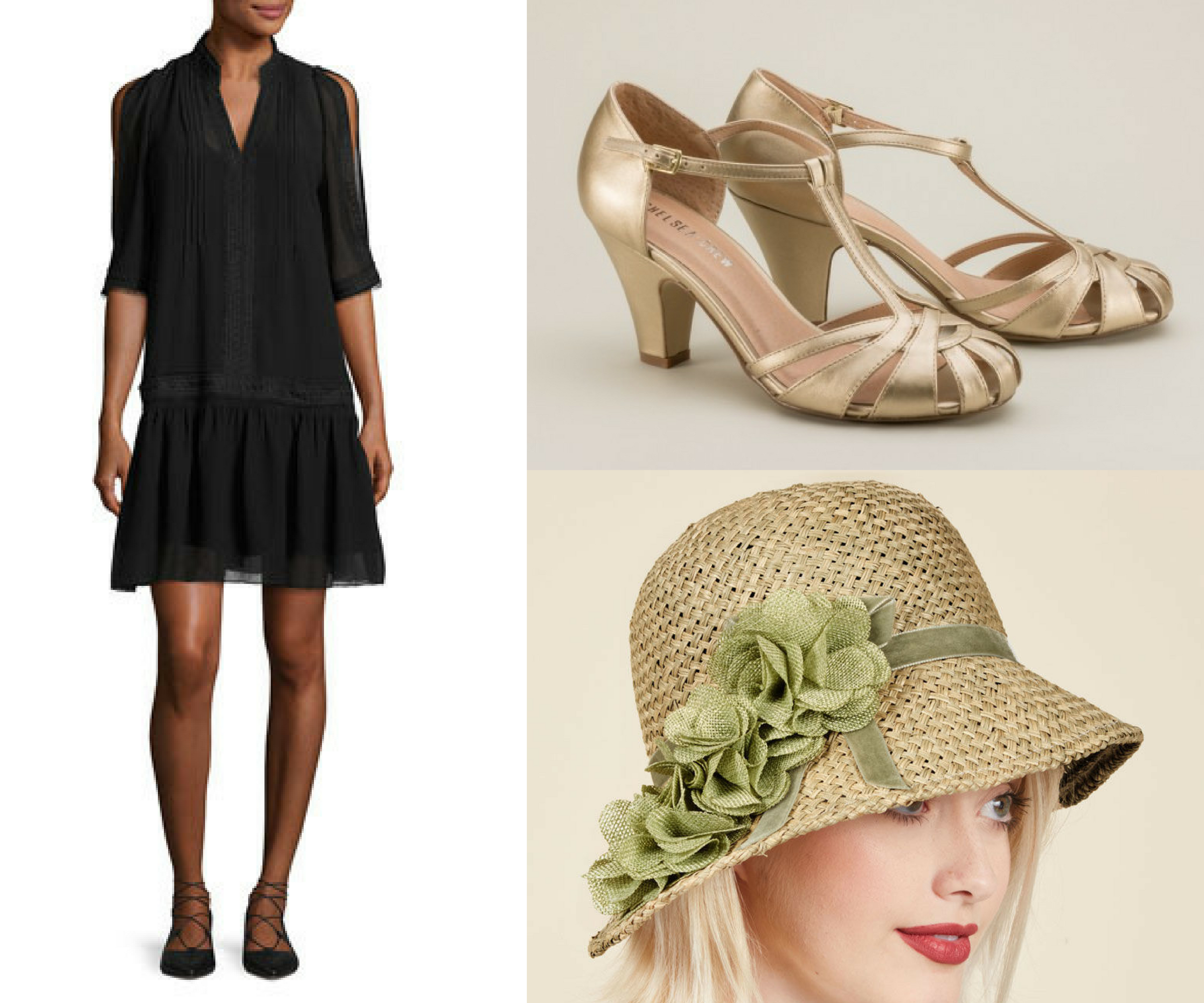 flapper inspired fashion